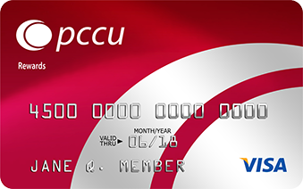 PCCU Red Rewards Card