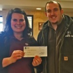 Fourth Quarter Referral Drawing Winner Josh with Dava Dale