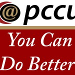 @ PCCU You Can Do Better