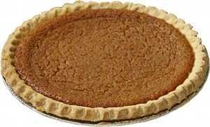 Mrs Wick's Pumpkin Pie