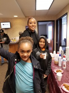 Member Lakeyah and her children came out for Member Appreciation Days!