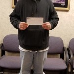 3rd Quarter Referral Drawing Winner Josh