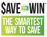 Save to Win Logo - Save Smart with Save to Win