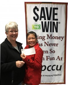 Merlinda Won $25 with Save to Win