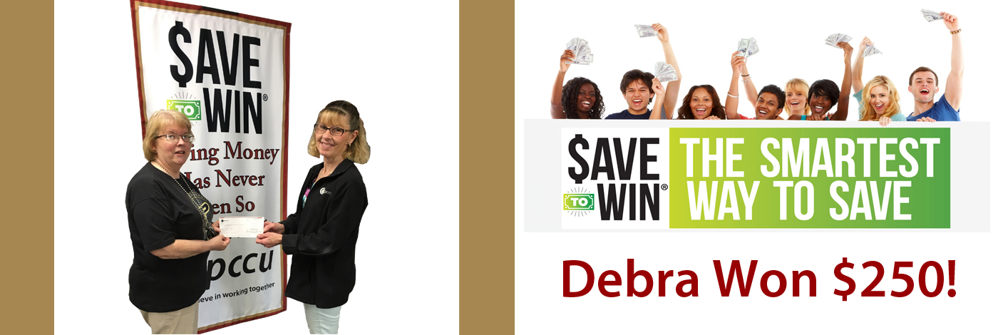 Members win money with Save to Win, click the link to learn more.